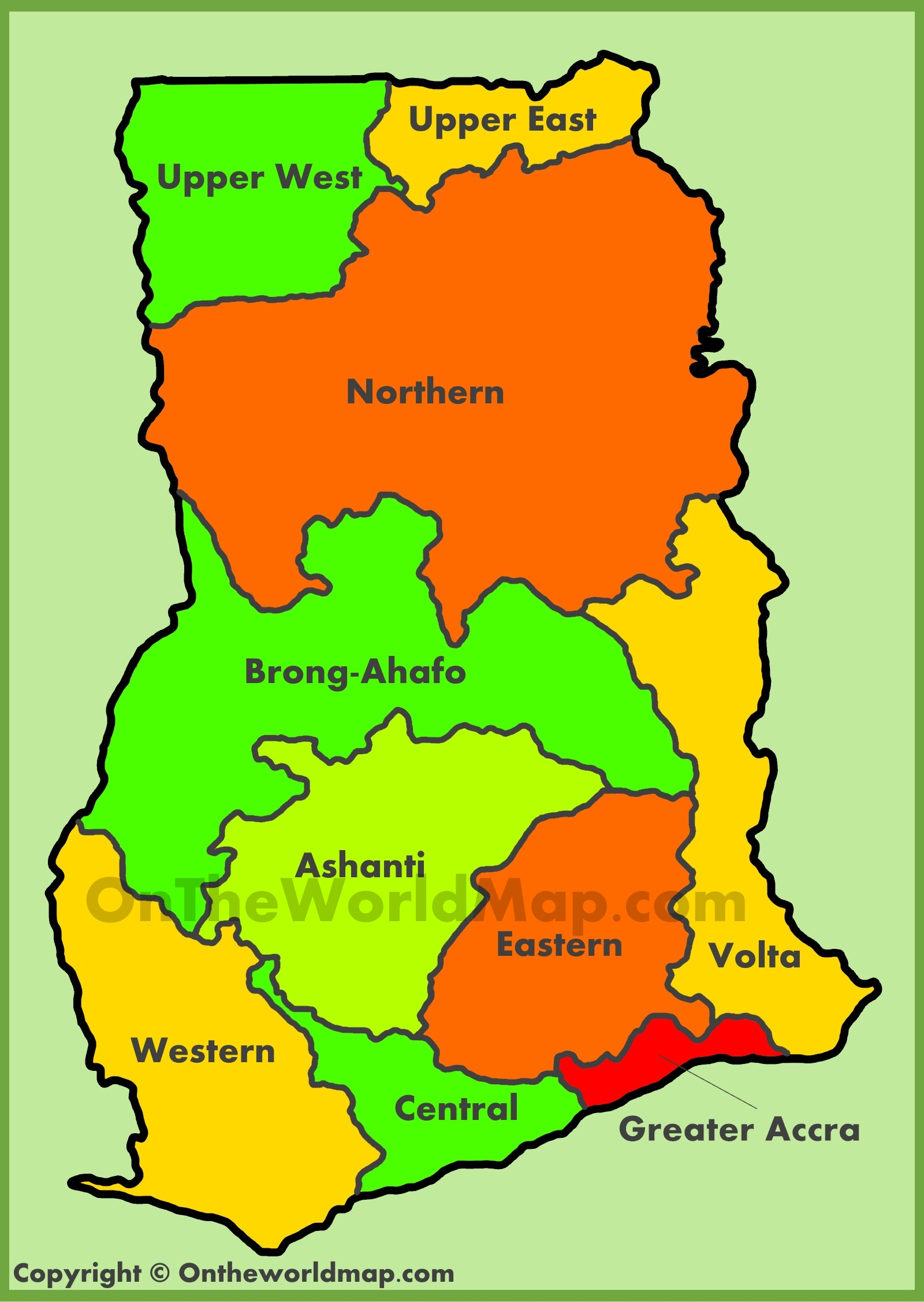 administrative-map-of-ghana